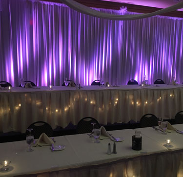 pipe and drape backdrops to fit your color theme a pittsburgh