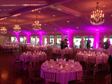Uplighting For Weddings In The